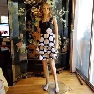 My Michelle Size 10 Black White Formal Dress